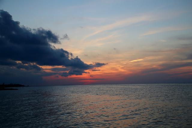 sunset,  holbox,yucatan, mexico