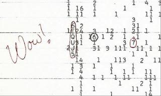 Uzaydan gelen WOW sinyali