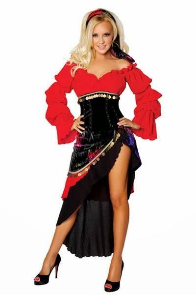 fcec1cde466d Sexy Costumi di Carnevale  Costume da spagnola