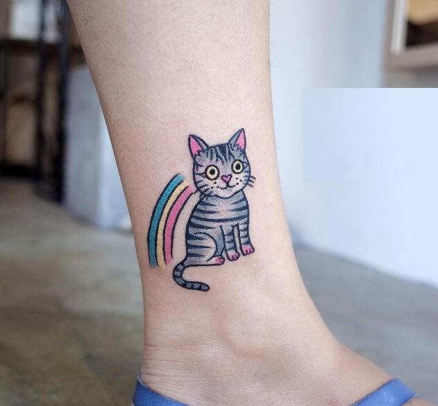 cute Cat Tattoos