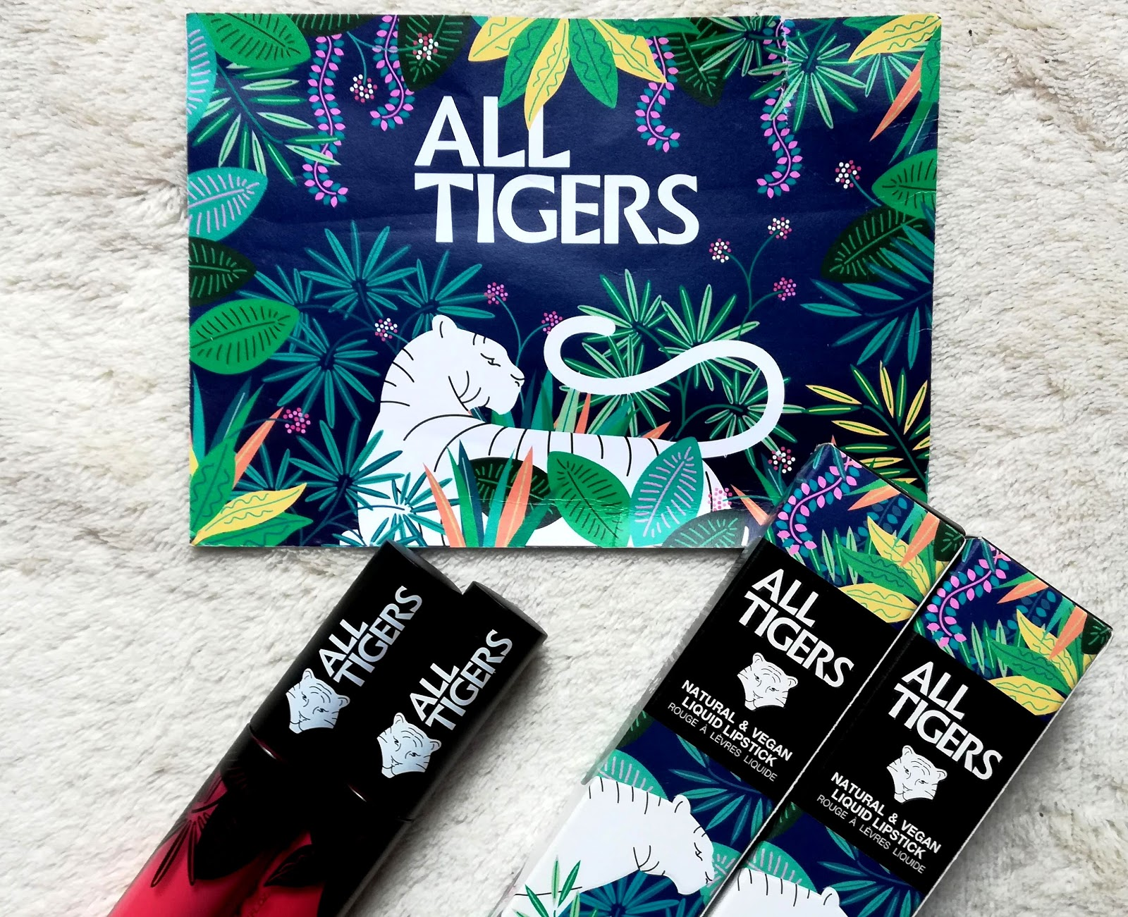ALL TIGERS  Découverte de la nouvelle marque de lipstick mat, naturel & vegan