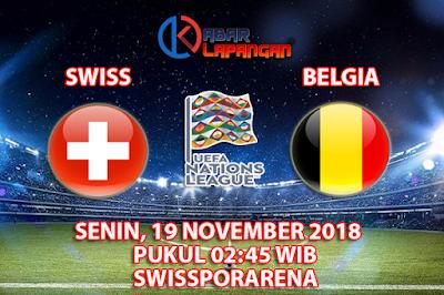 Prediksi Bola Swiss vs Belgia 19 November 2018