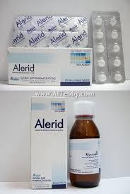 سعر ودواعي إستعمال أقراص اليريد Alerid للحساسية