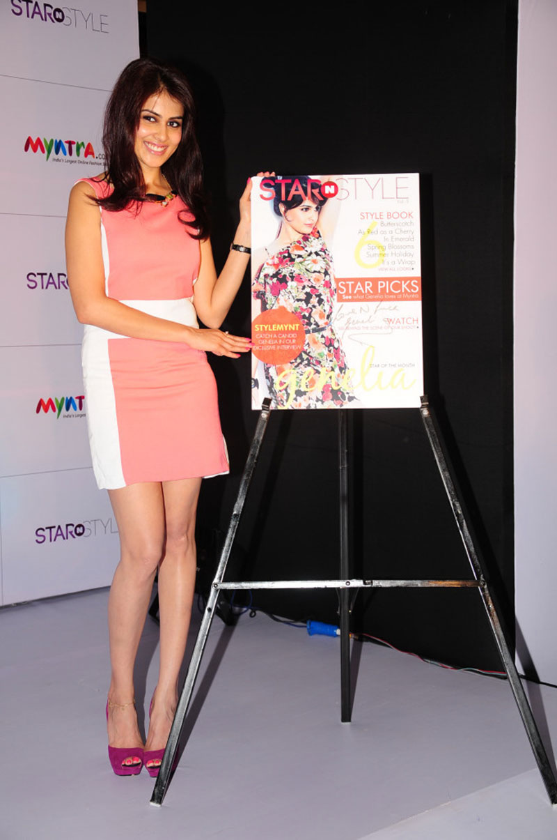 cute sexy Genelia latest photos at style n star launch