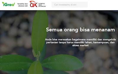 startup pertanian igrow asia
