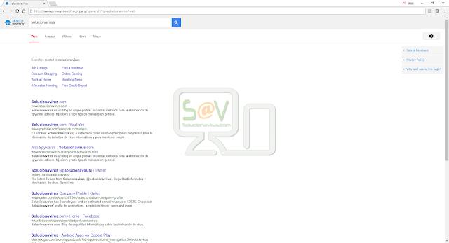 Privacy-search.company (Hijacker)