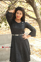 Telugu Actress Pavani Latest Pos in Black Short Dress at Smile Pictures Production No 1 Movie Opening  0259.JPG
