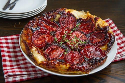 Cherry Tomato Tatin
