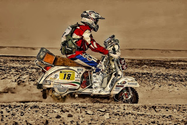Desert Rally Vespa
