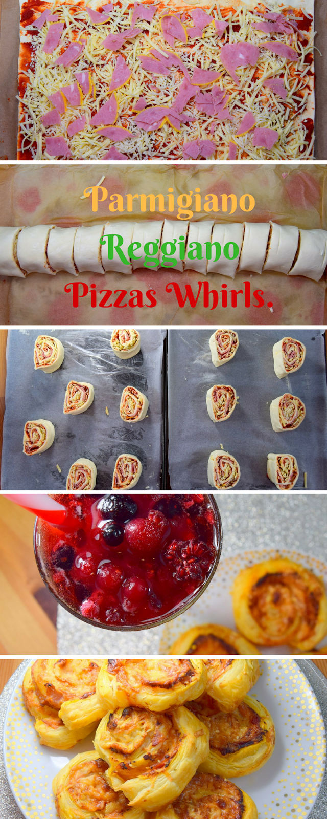 How To Make Parmigiano Reggiano Pizzas Whirls
