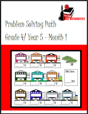 Free real life problem solving math journal from Raki's Rad Resources.