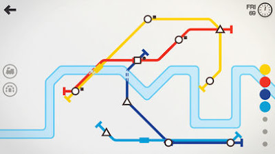 لعبة Mini Metro مهكرة للأندرويد، لعبة Mini Metro كاملة للأندرويد