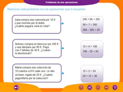 http://ceiploreto.es/sugerencias/juegos_educativos/7/Problemas_dos_operaciones/index.html