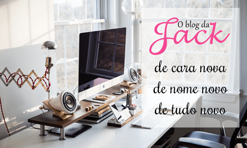 O blog de nome e cara nova