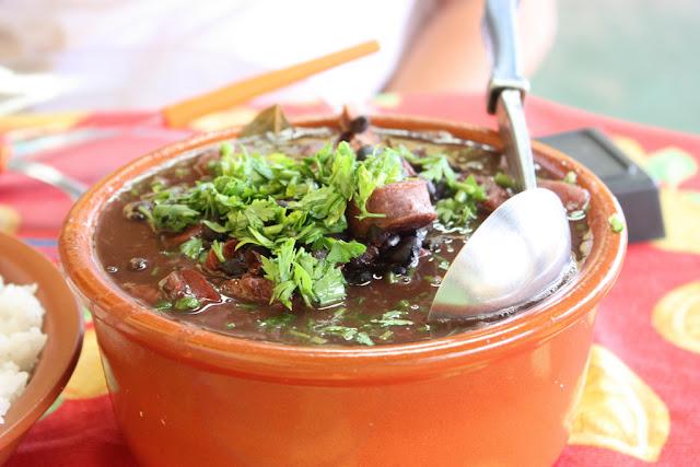 cassoulet portugais cuisiné au brésil sans gluten