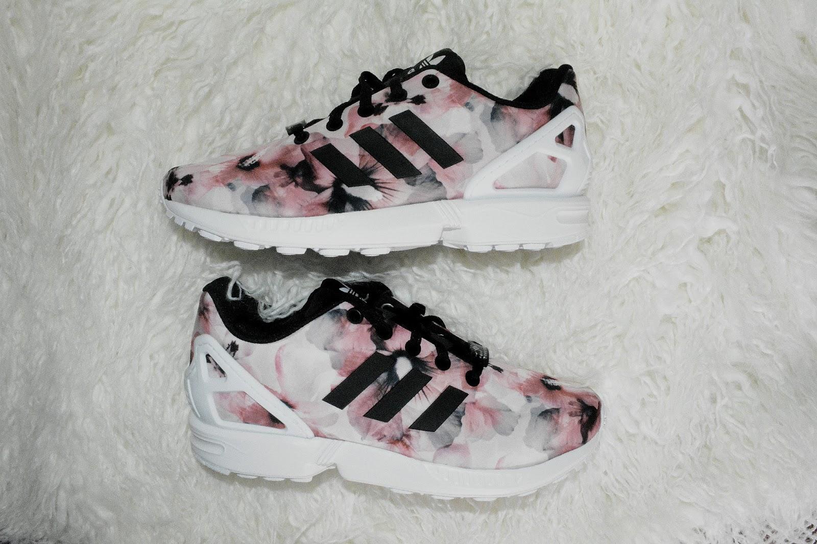 adidas zx flux todos rosa