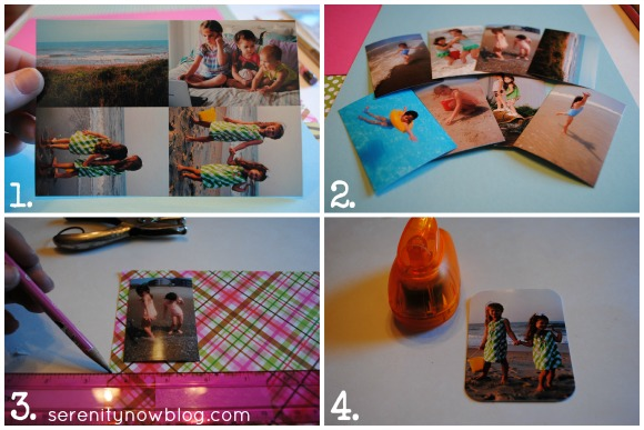 Make a Mini Photo Album with a Keyring! (Serenity Now blog)