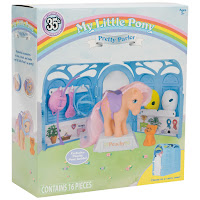 My Little Pony 35th Anniversary Pretty Parlor Set with Peachy