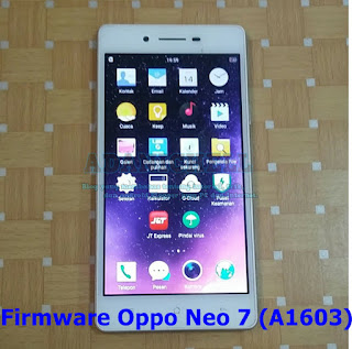 Firmware Oppo Neo 7 (A1603)