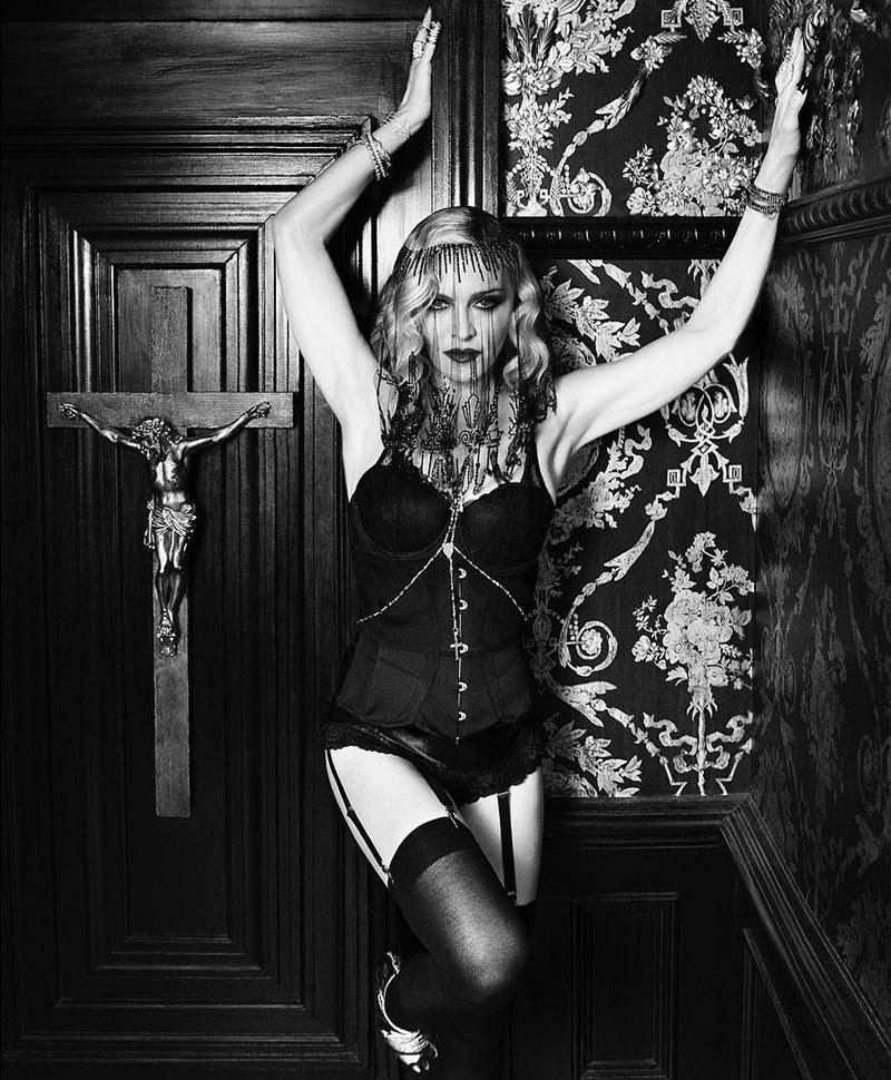 Madonna stars in MDNA Skin campaign