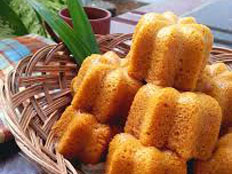 Resep praktis (mudah) kue sakura spesial (istimewa) enak, legit, sedap, nikmat lezat
