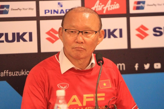 Park Hang-seo happy for the support from South Korea in Vietnam's Suzuki cup win