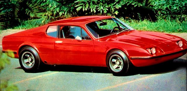automóvel esportivo GT Adamo – 1975