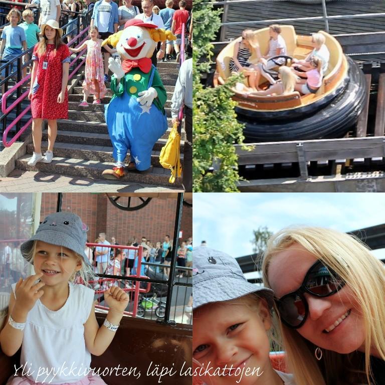 Linnanmäki, Kesä, Helsinki, Suomi, huvipuisto, Amusement park