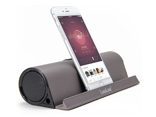 Prop It Up & Belt It Out with This All-in-One Speaker Stand