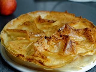 Tarte aux pommes façon croustade Gasconne