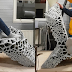 Robotisch 3D-geprinte chaise longue verandert in een bed