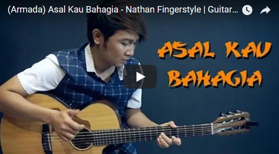 Asal Kau Bahagia - Nathan Fingerstyle Guitar Cover