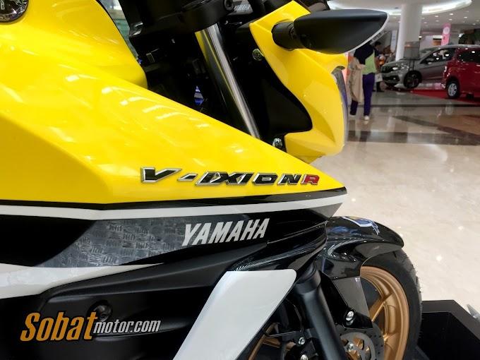 Yamaha New Vixion R Limited Edition 2017 #vixionR_1dekade