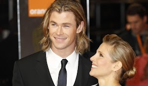 Chris Hemsworth and Elsa Pataky: The twins are here!