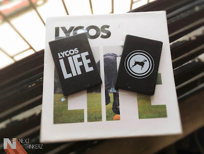 lycos life smartband review box contents