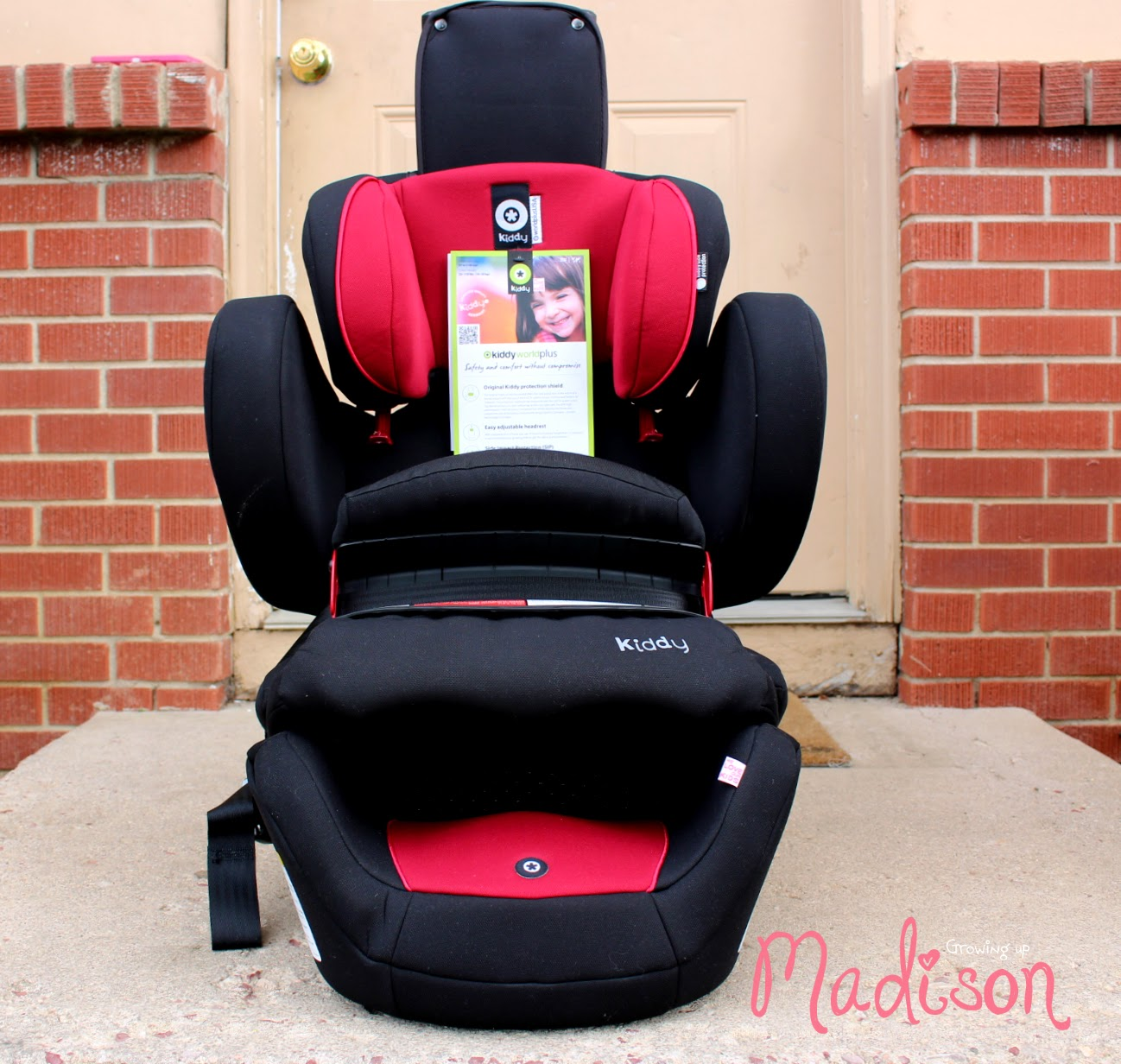 The Kiddy World Plus Is A German Designed And Engineered Forward Facing Combination Child Restraint Seat Which Means That Youre Only Able To Use This Once