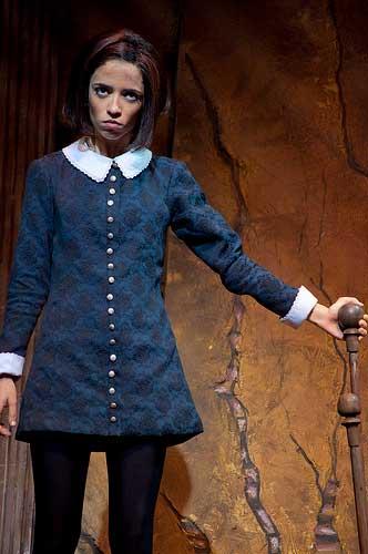 Vandinha no musical A família Addams