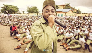 [PICTURES] Davido Turns First Day At NYSC To Concert
