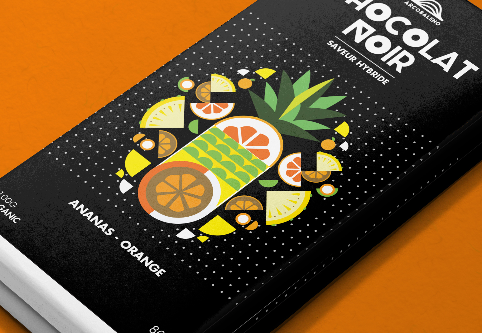 Arcobaleno chocolate student project on packaging of the for Arcobaleno design