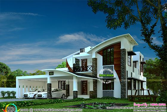 4 bedroom contemporary house in 2800 sq-ft