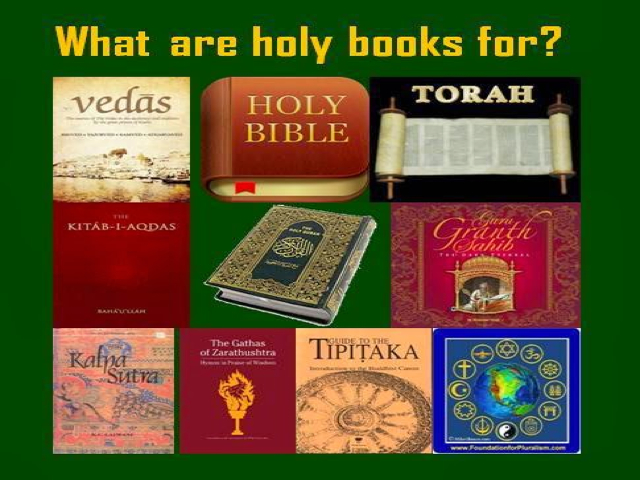 Issues Under Fire: Beware The Holy Books - Issues Under Fire