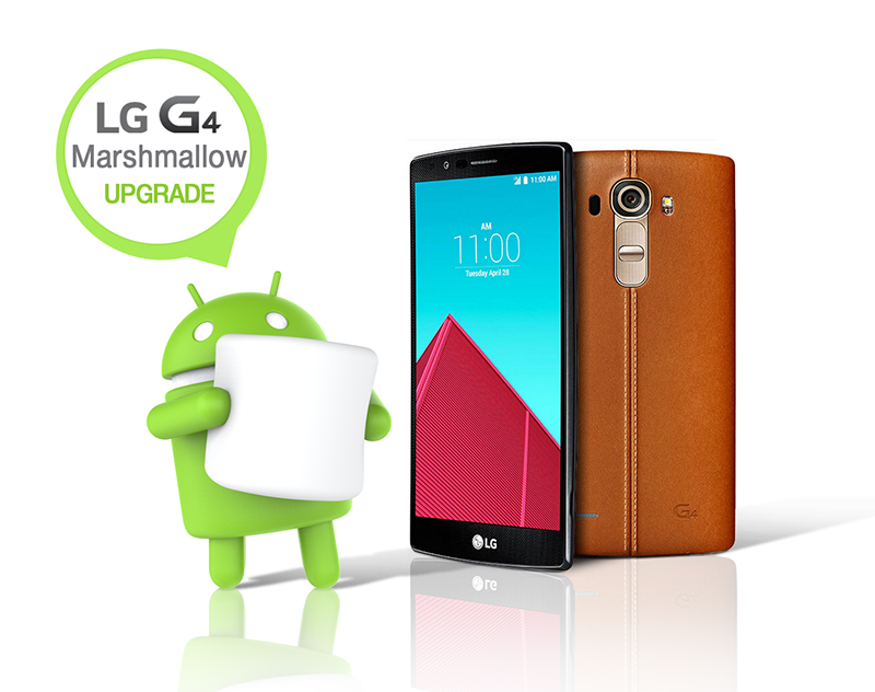 LG G4, Among The First Devices To Get The New Android 6.0 Marshmallow Update!