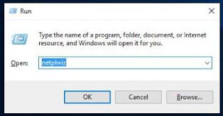 cara menghilangkan layar login di windows 10