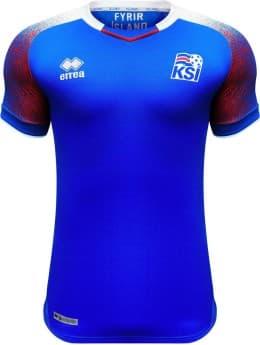 アイスランド代表 2018 ユニフォーム-ロシアワールドカップ-ホーム