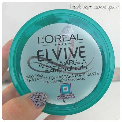 Pre Shampoo Arcilla extraordinaria Elvive
