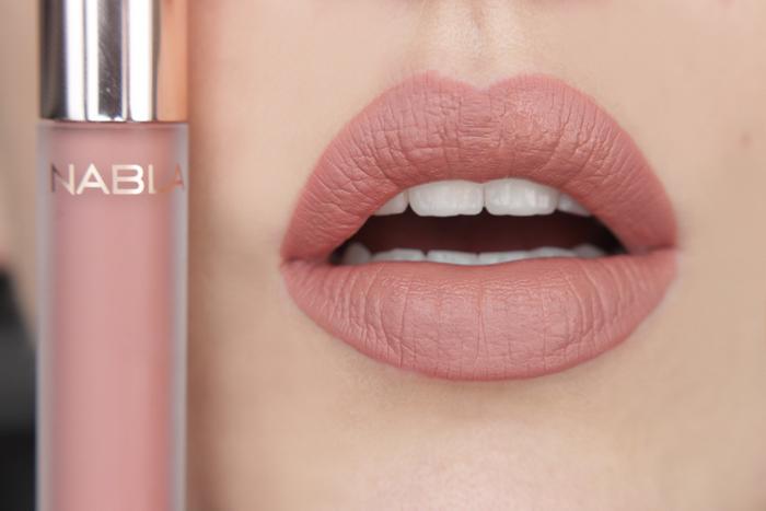 nabla matte liquid lipstick Sweet Gravity