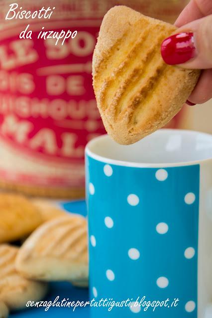 biscotti da inzuppo senza glutine con l'ammoniaca