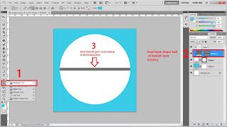 Cara membuat Flat desain dengan menggunakan Photoshop