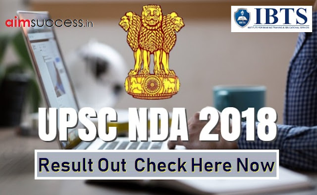 UPSC NDA 2018 Result Out : Check Here Now