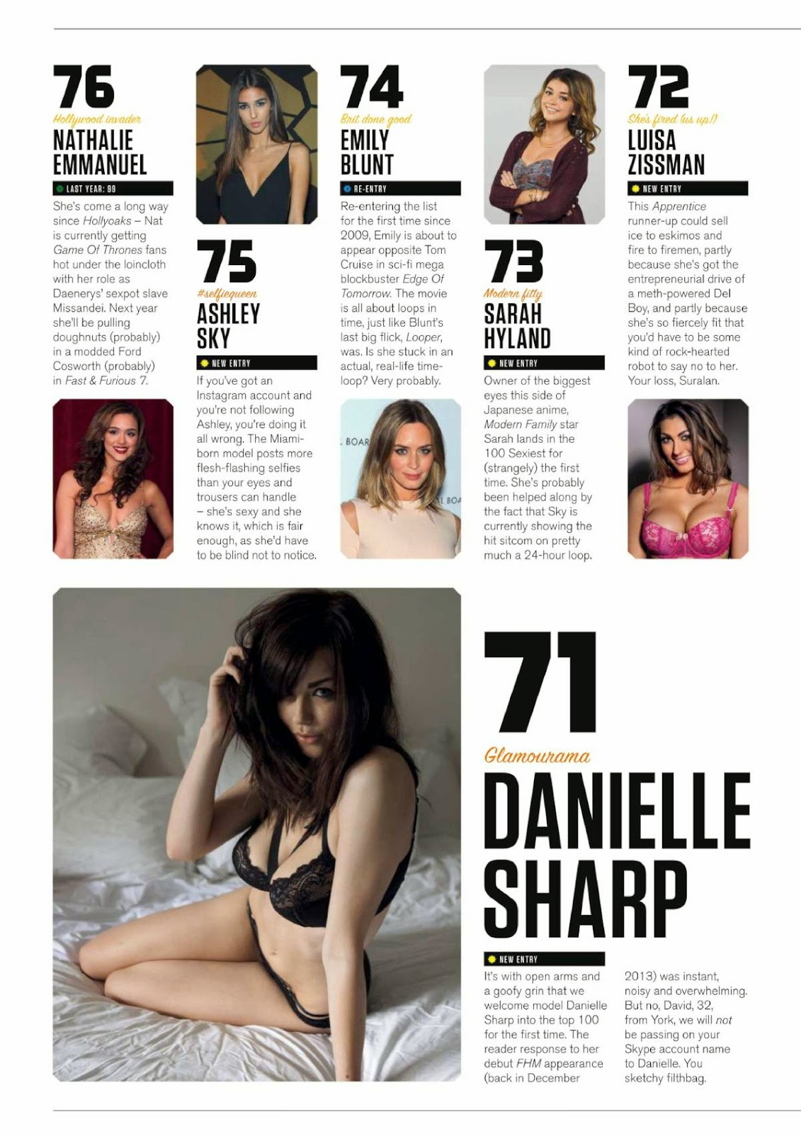 Fhm magazine s sexiest women in the world — photo 4